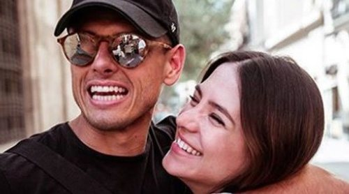 Chicharito y Sarah Kohan anuncian que van a ser padres de nuevo