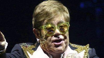 Elton John dona un millón de dólares para la lucha contra el coronavirus de las personas con VIH