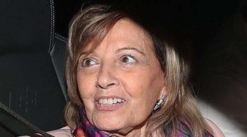 María Teresa Campos entra en directo en 'Sálvame' sin saberlo y muy enfadada: