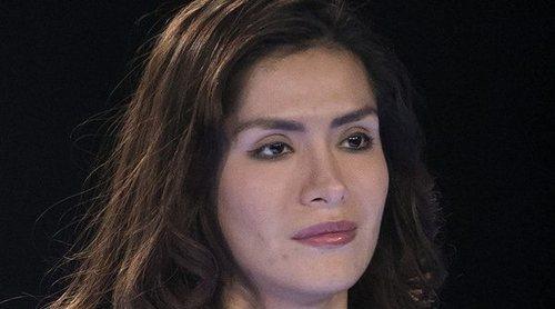 Miriam Saavedra se derrumba en 'Sálvame': 'Llevo un año sin ver a mi familia'