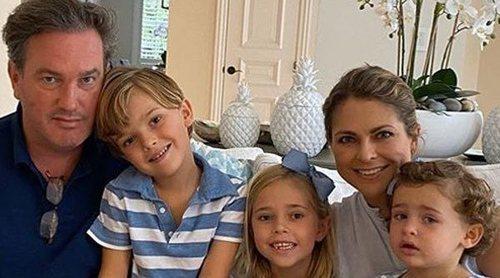 El entrañable encuentro virtual de la Familia Real Sueca al completo por Pascua