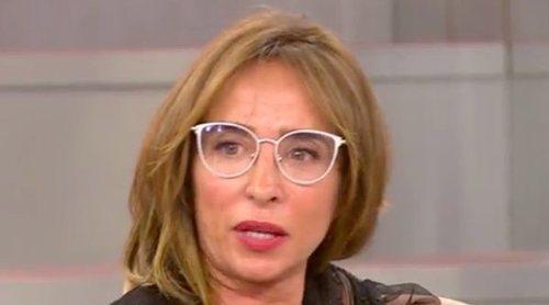 El percance de María Patiño mientras compraba: 'Una señora enfadada con 'Sálvame' me tiró el carrito'