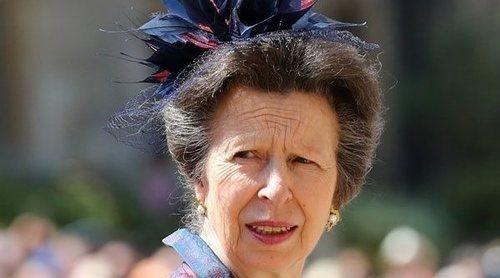 El reproche sin sentido a la Princesa Ana por su pullita al Príncipe Harry y Meghan Markle