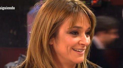 Toñi Moreno regresa a Telecinco durante el confinamiento y lanza unas pullitas a Kiko Jiménez