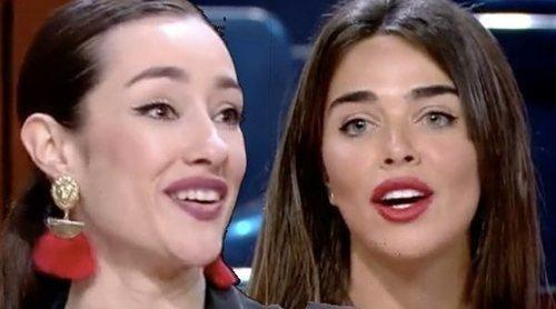 Adara y Violeta Mangriñán, a gritos en el plató de 'Supervivientes 2020': 'Que te adopten en un psiquiátrico'