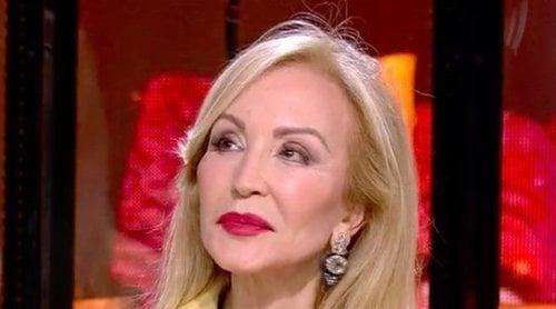 Las confesiones de Carmen Lomana en 'SV 2020': de su nueva ilusión al succionador guardado en la caja fuerte