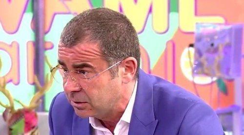 El cabreo de Jorge Javier Vázquez en 'Sálvame':