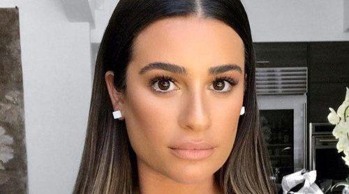 Lea Michele confirma que está embarazada de su primer hijo presumiendo de barriguita