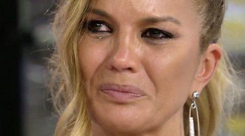 Marta López se derrumba en 'Sálvame' tras las duras palabras de Kiko Hernández: 'No formo parte de este circo'