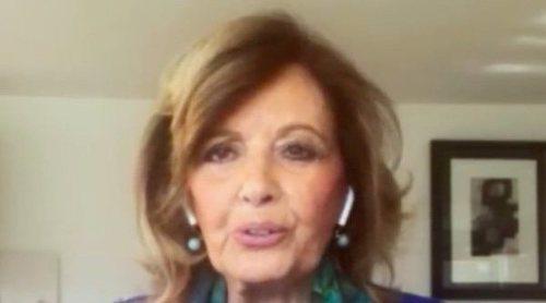 El exceso de protección de Terelu con su madre María Teresa Campos: 'Me obliga a jugar a las cartas con mascarilla'