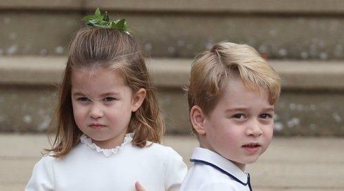 La razón por la que el Príncipe Jorge tiene celos y se ha enfadado con su hermana Carlota de Cambridge