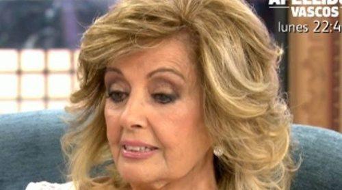 María Teresa Campos se enfrenta a Jorge Javier Vázquez por reírse de Terelu Campos