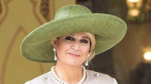 La Reina Máxima de Holanda celebra su cumpleaños más dulce a pesar del confinamiento por el coronavirus