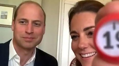 El Príncipe Guillermo y Kate Middleton juegan al bingo a través de una videollamada con una residencia de ancianos