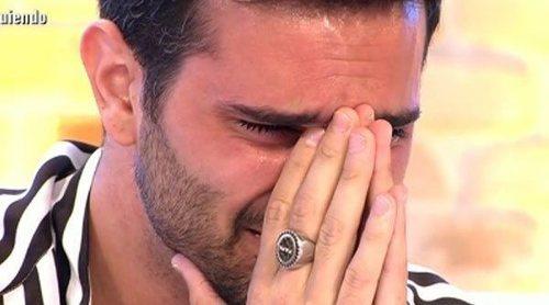Suso cuenta entre lágrimas por qué entró en 'GH VIP 6' y el infierno que vivió durante el concurso