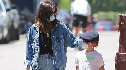 El paseo familiar de Ana de Armas y Ben Affleck con los hijos del actor