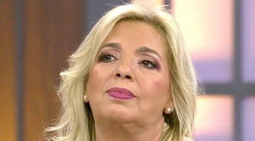 Carmen Borrego niega haberse saltado la cuarentena y lanza un dardo a María Patiño