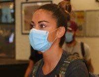 """La complicada vuelta a España de Lara Álvarez: """"Verte así me parte el alma"""""""