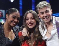 Nía, Eva y Hugo se convierten en los tres primeros finalistas de 'OT 2020' en una gala con muchas sorpresas