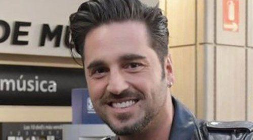 David Bustamante, emocionado por volver al trabajo: 'Se me saltan las lágrimas'
