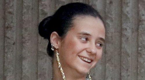 Victoria Federica, de comida familiar con la Infanta Margarita en Madrid