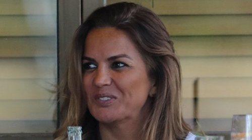 Marta López, muy cómplice con un misterioso hombre tras su ruptura con Alfonso Merlos