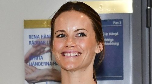 La Princesa Sofía de Suecia habla de su experiencia en un hospital luchando contra el coronavirus