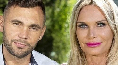 Cristian Suescun y Yola Berrocal se besan en 'La casa fuerte'