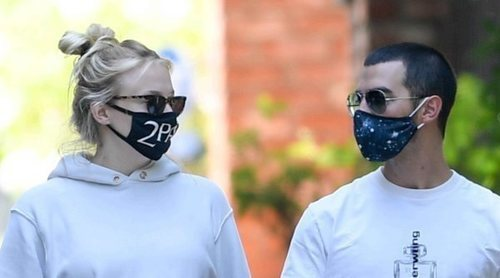 Joe Jonas y Sophie Turner disfrutan de la recta final del embarazo