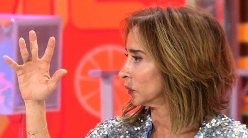 El cómico incidente de María Patiño cortando solomillo en 'La última cena' por el que terminó en el médico