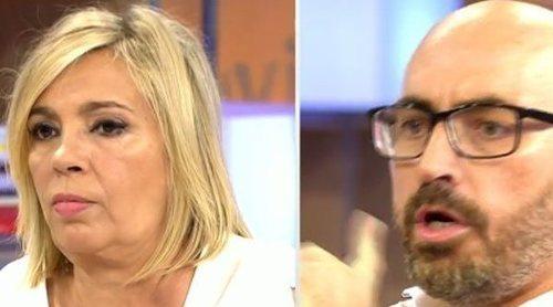 La brutal pelea entre Diego Arrabal y Carmen Borrego en 'Viva la vida': acusaciones, una huida y una advertencia
