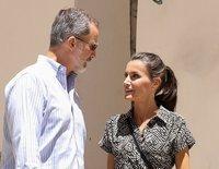 Los Reyes Felipe y Letizia reviven la primera parada de su luna de miel en su visita a Cuenca