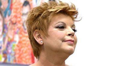 Terelu Campos vuelve al plató de 'Sálvame' para cocinar en 'La última cena' entre tensiones y nervios