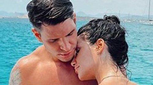 Así ha sido el primer viaje de Diego Matamoros con Carla Barber a Ibiza