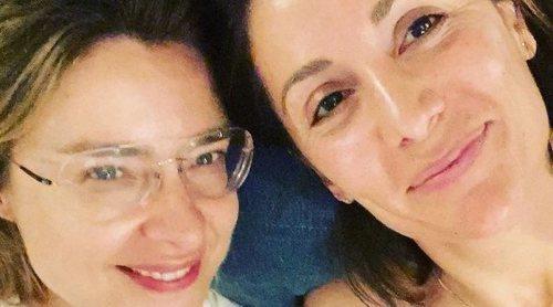 La tierna despedida de Nagore Robles y Sandra Barneda antes de poner rumbo a 'La isla de las tentaciones'