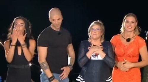 Macarena, Labrador, María Jesús Ruiz y Juani Garzón, expulsados en la semifinal de 'La casa fuerte'