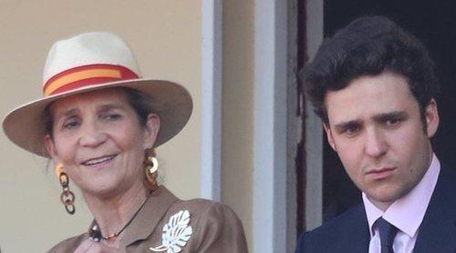 La preocupación de la Infanta Elena tras salir a la luz el supuesto affaire entre Froilán y Miriam Saavedra