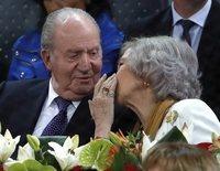 """La pregunta de la Reina Sofía al Rey Juan Carlos en su despedida: """"¿A quién te vas a llevar?"""""""