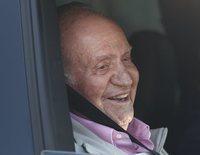Primera imagen del Rey Juan Carlos tras abandonar España