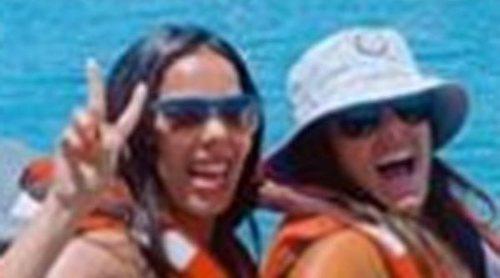Anabel Pantoja y Beatriz Luengo disfrutan juntas de Canarias