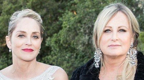 Sharon Stone, muy preocupada porque su hermana se ha contagiado por coronavirus teniendo lupus