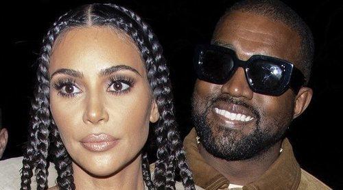El esperado beso de Kim Kardashian y Kanye West con el que confirman su reconciliación