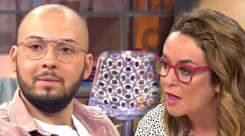 Toñi Moreno le para los pies a Avilés tras atacar a Christofer y Fani: 'Es una manera muy mala de defenderte'