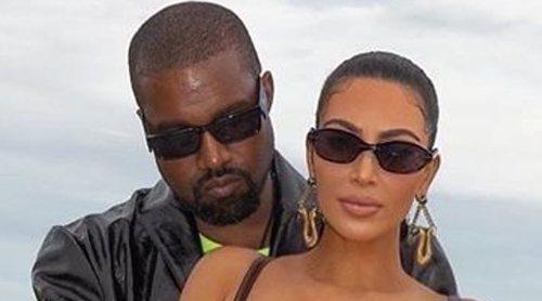 Kanye West vuelve a Los Ángeles para pasar tiempo con Kim Kardashian y sus hijos