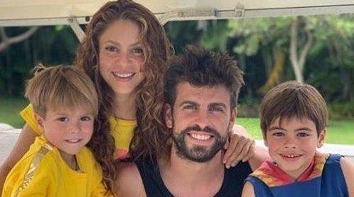Gerard Piqué y Shakira disfrutan de unas paradisíacas vacaciones en las Maldivas junto a sus hijos Milan y Sasha