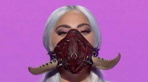 Lady Gaga, la protagonista indiscutible de los MTV VMA's 2020 por sus cinco premios y sus mascarillas