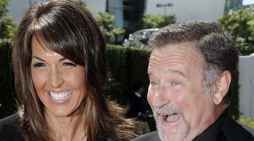 La viuda de Robin Williams cuenta cómo se dio cuenta de la demencia de su marido