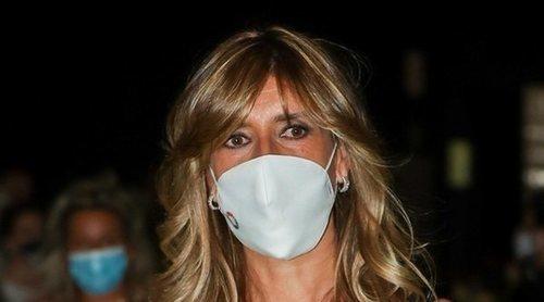 Begoña Gómez reaparece en el front row de Madrid Fashion Week tras haber superado el coronavirus
