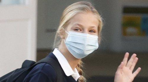 La Princesa Leonor, confinada tras dar positivo en coronavirus una compañera de clase