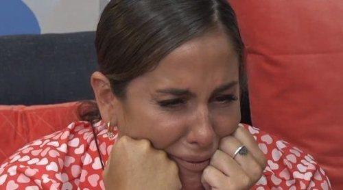 Anabel Pantoja se emociona con los mensajes de apoyo de Chabelita y Kiko Rivera a su entrada en 'Sola'